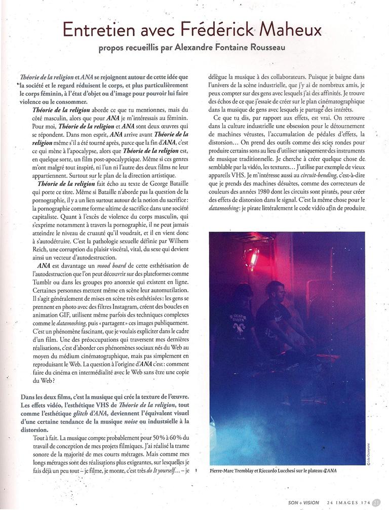 Entrevue - Page 1